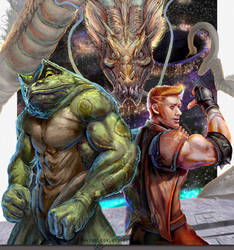 Battletoad and Doubledragon Tribute by Daviddleonluis