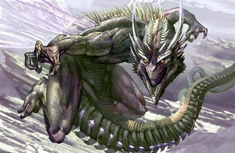 Outcast Odyssey  Dragon by David De Leon entry 1 by Daviddleonluis