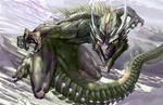 Outcast Odyssey  Dragon by David De Leon entry 1