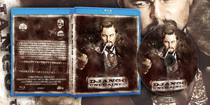 Django Unchained BluRay Cover by KellevraS