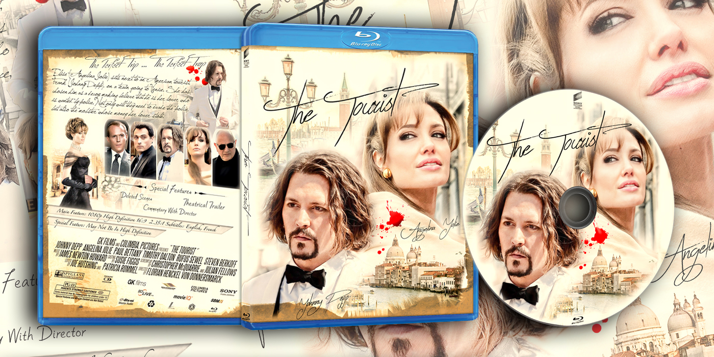 Image result for the tourist Bluray cover