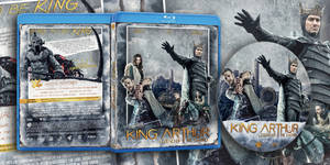King Arthur: Legend Of The Sword Bluray Cover