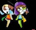 GA: Kikoko and Shiroro by KikiTheKitty