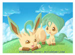 NEW YEAR: LEAFEON
