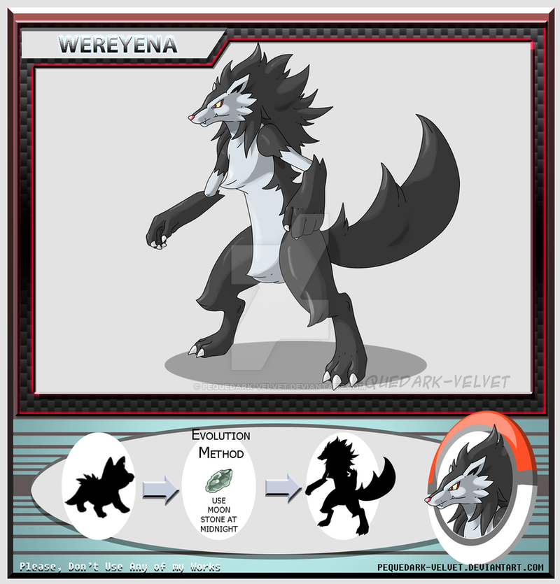 Alternative Evo: WEREYENA by PEQUEDARK-VELVET