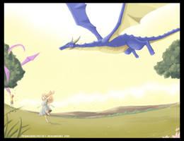 Speed paint .:Kite Dragon:. by PEQUEDARK-VELVET