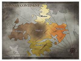 Cronnax Continent Map by PEQUEDARK-VELVET