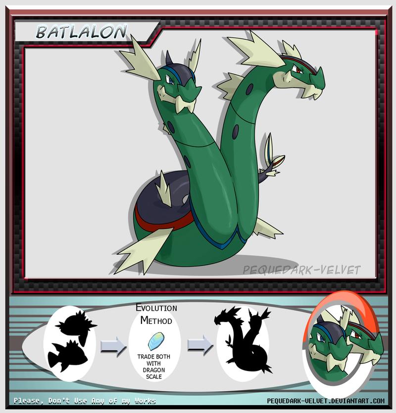 Alternative Evo: BATLALON by PEQUEDARK-VELVET on DeviantArtBasculin Evolution Chart