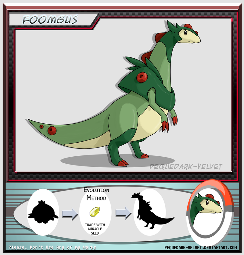 Alternative Evo: FOOMGUS by PEQUEDARK-VELVET on DeviantArtBasculin Evolution Chart