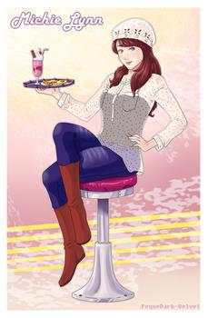 ArtTrade .: Pin Up girl Michie:.