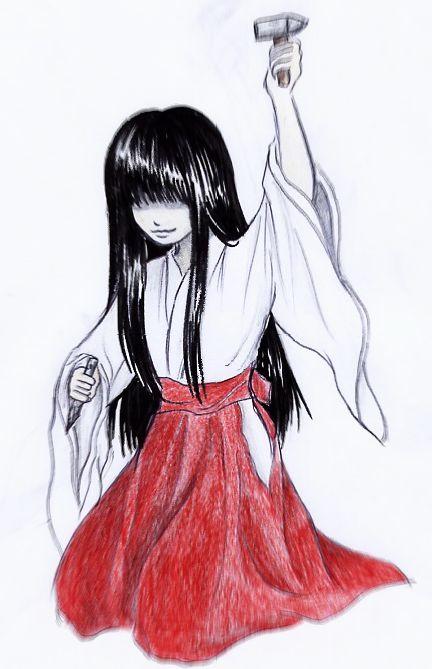 Fatal Frame III, Hisame by Myrrha-Silvenia on DeviantArt