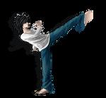 L and Capoeira 2