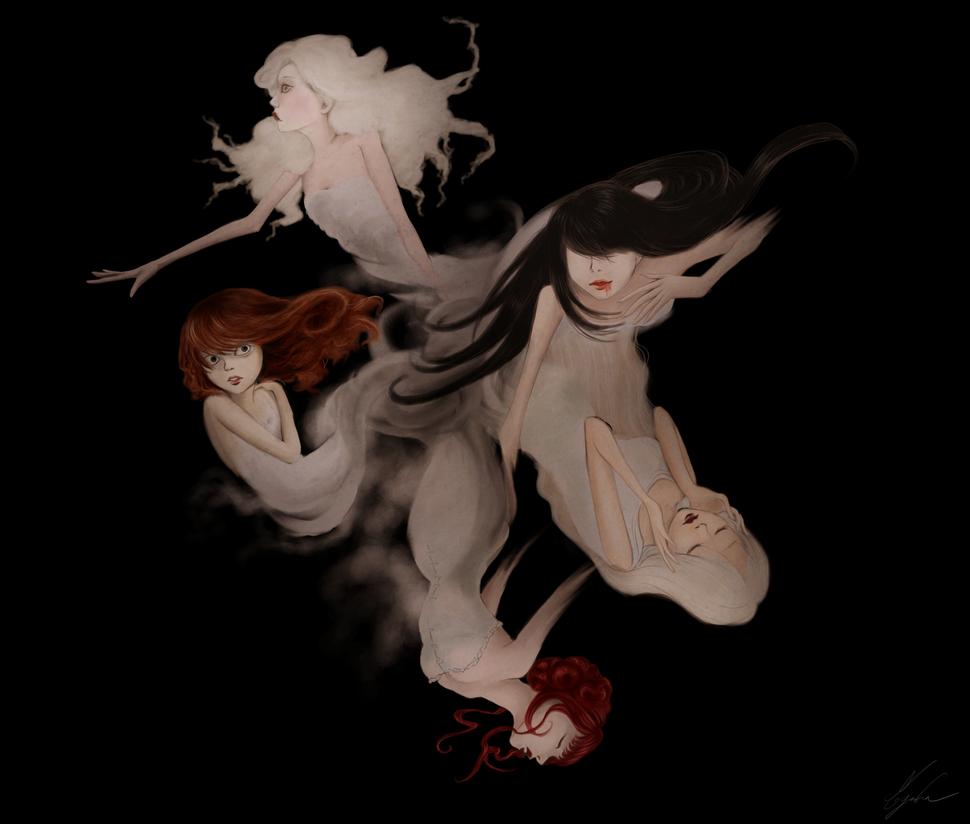 Five Ghosts by Myrrha-Silvenia