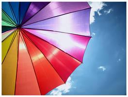 Sunny Umbrella2 by LiLLyOTR