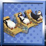 penguins chilaxin