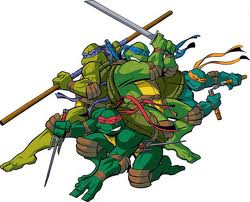 TMNT IN ACTION!!!!!!!!!!!!!! by lilzoey17