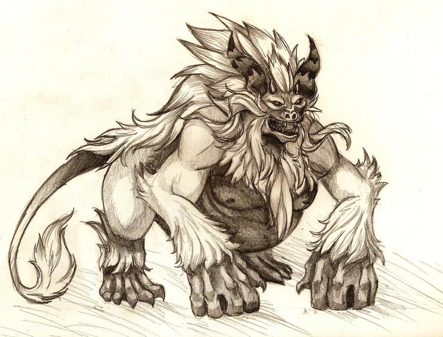 Demon Monkey King by Emerii