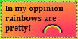 Rainbow stamp by Caruku-una