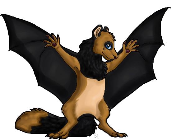 Halloweeni félelem és reszketés... - Alfa Kentauri Xylom_the_squirrel_bat_by_annawolfe-d51lg1r