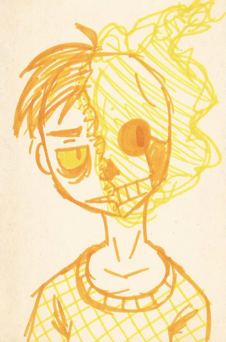 Portrait: Flames by Smirkat