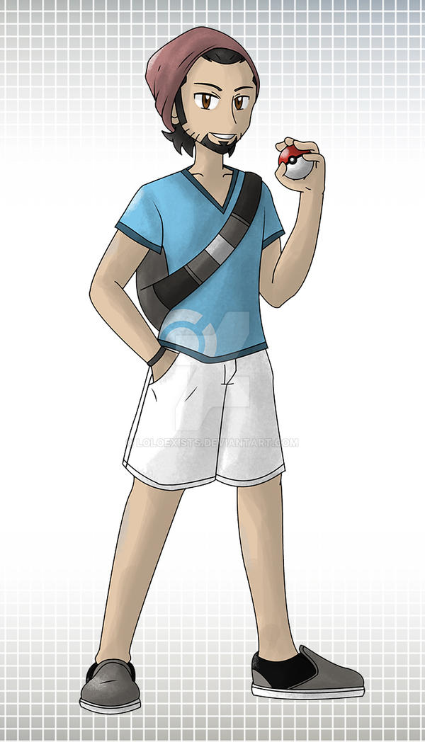 Pokemon Trainer - Lolo by LOLOexists