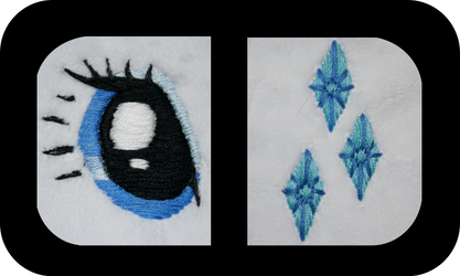 Rarity Preview: Embroidery by MLPPlushies