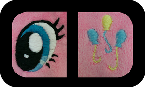 Pinkie Pie Preview: Embroidery