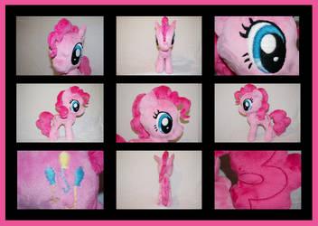 MLP: Pinkie Pie Plushie - Alternate Views by MLPPlushies