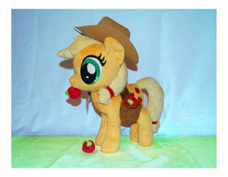 MLP: Applejack Plushie by MLPPlushies
