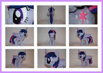 MLP: Twilight Sparkle Plushie - Additional Views by MLPPlushies