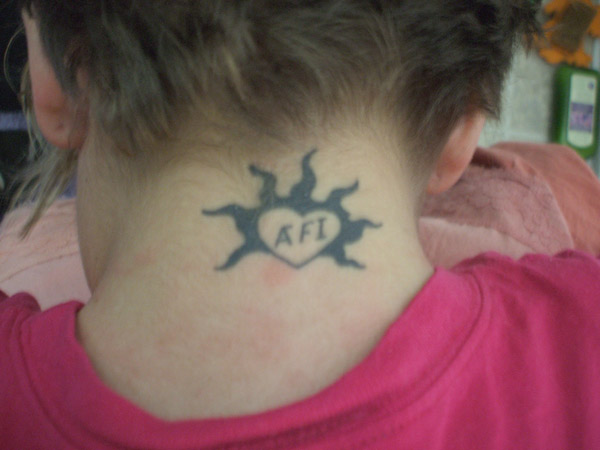 Original AFI tattoo