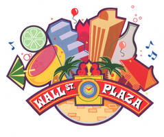 Wall St. Plaza Logo (2001) by AllanAlegado