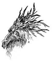 Blackmoor Dragon Head (2003) by AllanAlegado