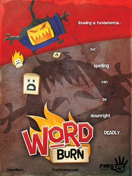 Word Burn Movie Poster (2013)