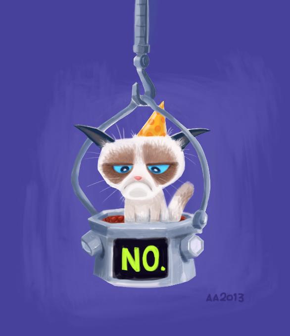 NO. (2013) by AllanAlegado