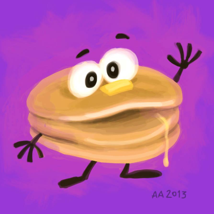 Super Happy Pancake! (2013) by AllanAlegado