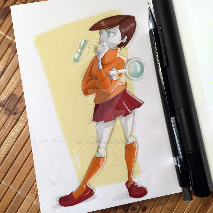 Velma Dinkley (2014) by AllanAlegado