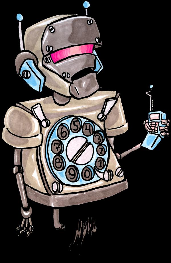 Robo-Caller by JackMurphy