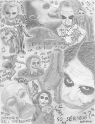 joker collage by jokeraddict0
