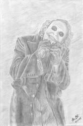 joker sketch by jokeraddict0