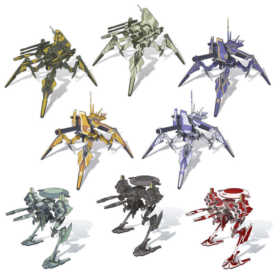 Mech Concepts by NateSonOfSimp