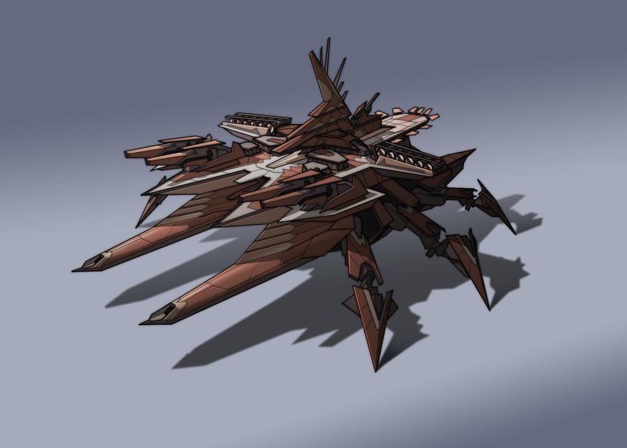 Cybran Destroyer by NateSonOfSimp