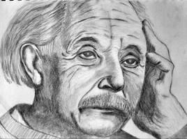 Einstein by chamathe