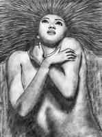 Woman by chamathe