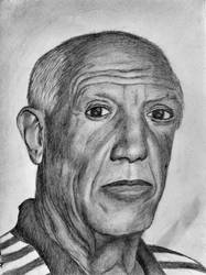 Pablo Picasso by chamathe