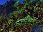Journey through Mandelbulb 3D