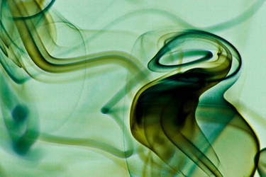 Abstract Smoke - Sea Horse by chamathe