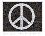 Peace Mosaic by chamathe
