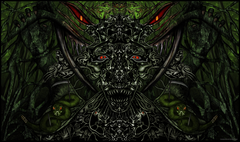 Digital Painting - Forest Spirit