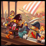 Lego: Pirate Painting